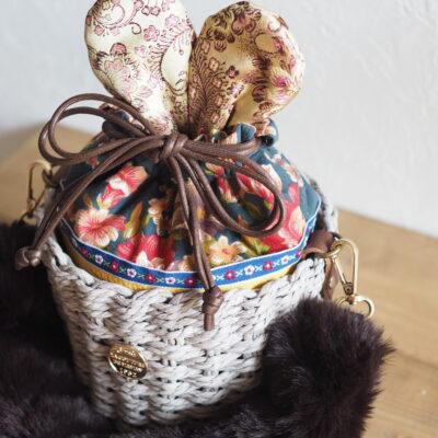 ウサギのバッグ完成